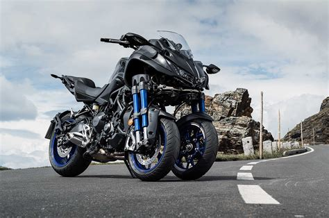 Yamaha Niken Wheelie by Niken Roll Out Is Beginning More Info And Soon Test