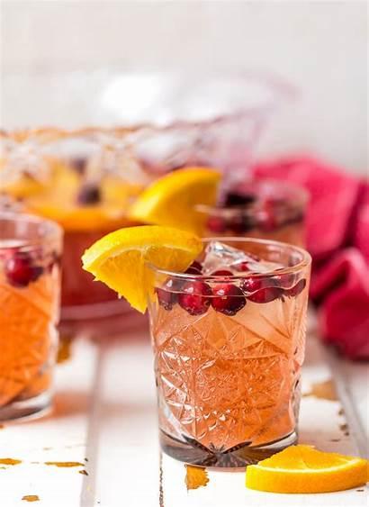 Punch Holiday Easy Recipe Recipes Alcohol Juice