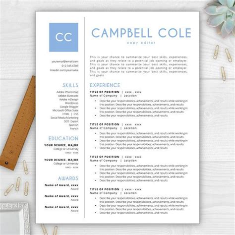 Stand Out Resume by Stand Out From The Competition With This Best Selling