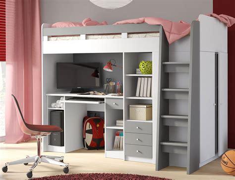 Hochbett Mit Schreibtisch by Hochbett Mit Schreibtisch Und Kleiderschrank Gut Hochbett