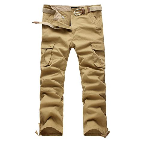Men Khaki Cargo Pants | Pant So