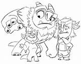 Trollhunters Troll Hunters Gunmar Trollhunter Blinky Worksheetpedia Martinez Trolls Draal sketch template