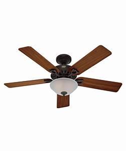 Hunter fan astoria inch ceiling with light