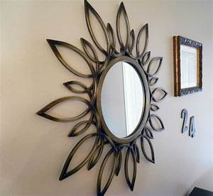 sun wall mirror decor doherty house fabulous wall With wall mirror decor