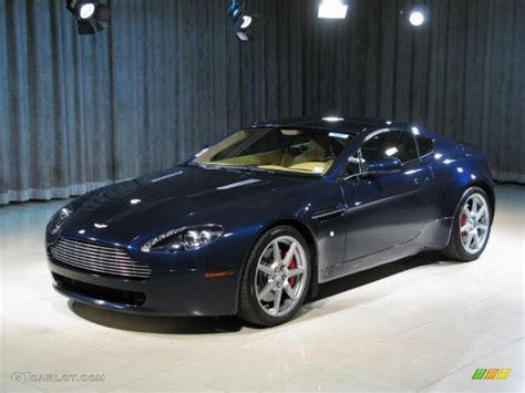 2008 midnight blue aston martin v8 vantage coupe 25145900