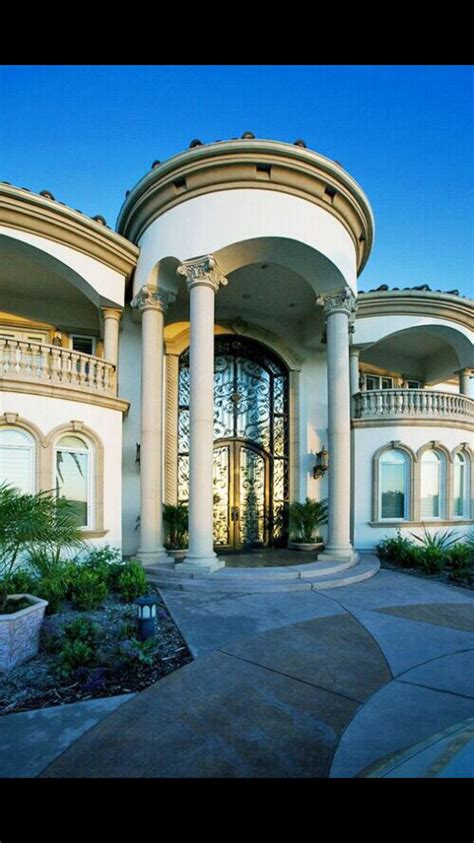 entrance luxury homes dream houses mansions dream mansion