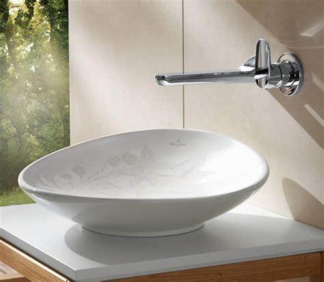 aufsatzwaschbecken villeroy und boch villeroy boch my nature surface mounted basin uk bathrooms