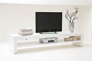Tv Lowboard Weiß Matt : tv lowboard gino ii hochglanz weiss 200 cm ebay ~ Pilothousefishingboats.com Haus und Dekorationen