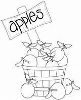 Stamps Digital Digi Apples Autumn Ice Cream Coloring Pages Filled Basket Soda Social Parlor sketch template