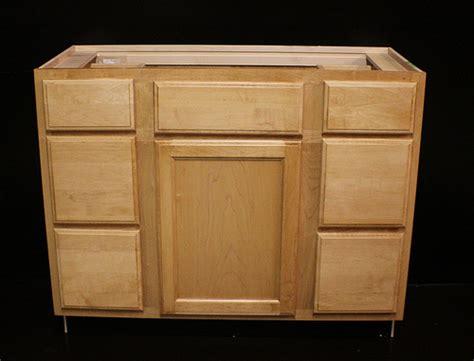 kraftmaid maple bathroom vanity sink base cabinet 42 quot w ebay