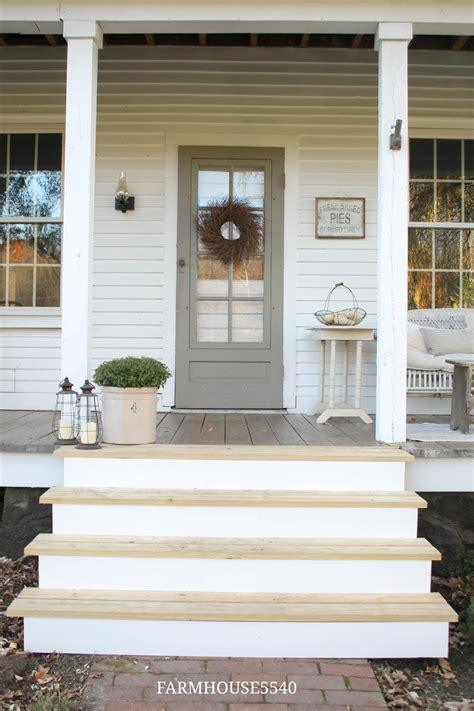 House Front Porch by Farmhouse 5540 Our Farmhouse Front Porch