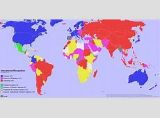 International Recognition of Kosovo, Palestine, and the