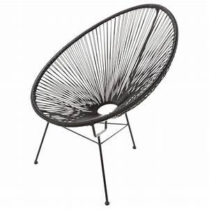 Maison Du Monde Sessel : gartensessel rund schwarz in 2019 gartensessel sessel und terrassen st hle ~ Watch28wear.com Haus und Dekorationen