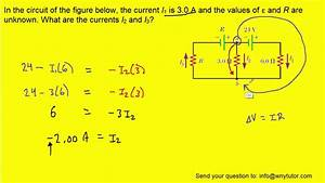 In The Circuit Of The Figure Below  The Current I1 Is 3 0