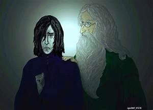 Severus Snape and Dumbledore by rgn2007 on DeviantArt