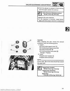 1986 Yamaha Srx600s Sc Service Manual