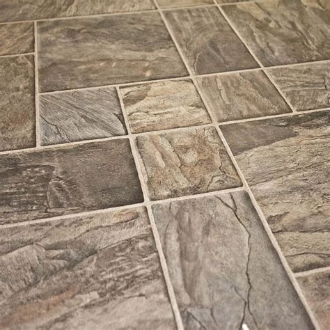 laminate slate tile 8mm alloc tile collection laminate flooring multi charcoal slate kitchen pinterest