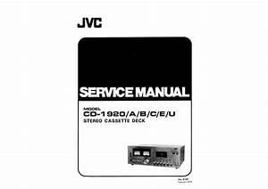 Jvc Cd1920  A  B