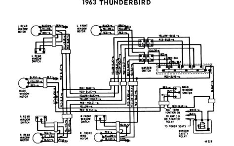 Thunderbird Relay Wiring by Power Windows Seats In A 63 Vintage Thunderbird Club