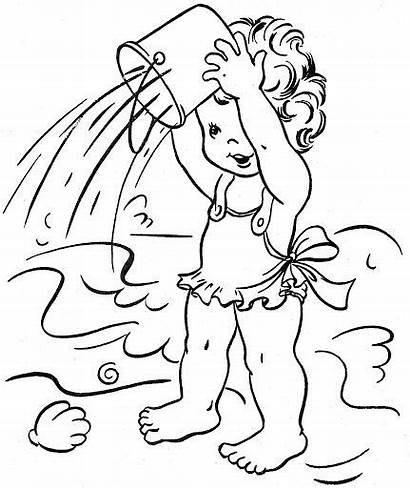 Coloring Pages Outdoor Summer Sheets Fun Bonnie