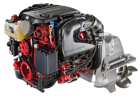 volvo penta motor volvo penta displays power of its new sterndrives trade only today
