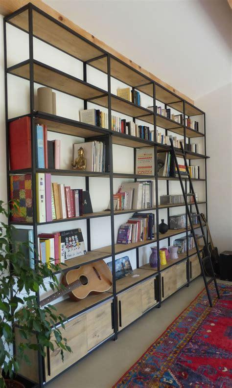 le bureau industrielle bibliothèques ambiance factory bibliothèque