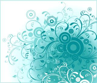 froral background   cdr belajar coreldraw