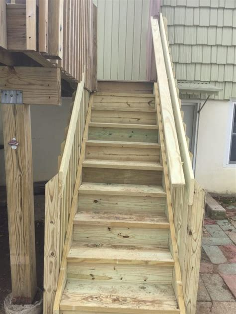 refinishing hardwood stairs monk 39 deck stair stabilization and replacement monk 39 s home