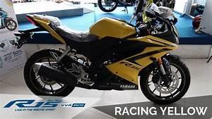 Yamaha All New R15 Racing Yellow 2019 Vva 155