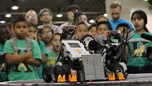 Students Flex Math Muscles At Cal Poly Pomona Robot Expo