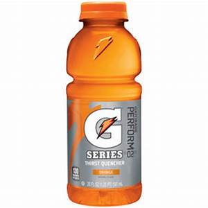 Shop Gatorade 20-fl oz Orange Sports Drink at Lowes com