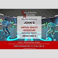 Birthday Party Venue Sydney  Virtual Reality Birthdays