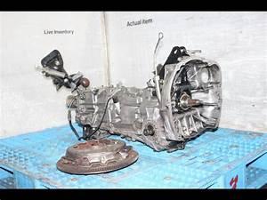 Jdm Subaru Ej20 Turbo Manual Awd Transmission Ty752vbcaa 4
