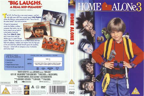 Home Alone 3  Home Alone 4 (19972002) R2  Movie Dvd  Cd Labels, Dvd Covers, Front Covers