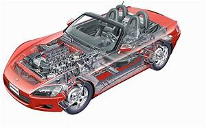 2000 Honda S2000 Roadster Drawing Photo S
