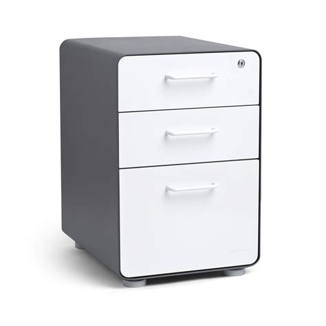 poppin file cabinet review white yellow stow drawer file cabinet poppin model 48 3