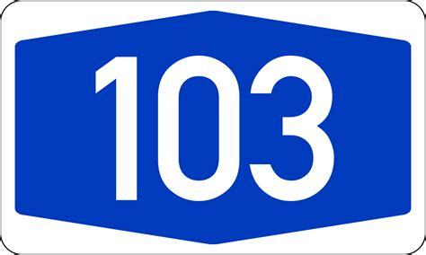 Bundesautobahn 103