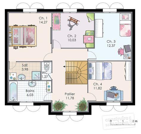 plan maison 1 chambre plan meuble chambre raliss com