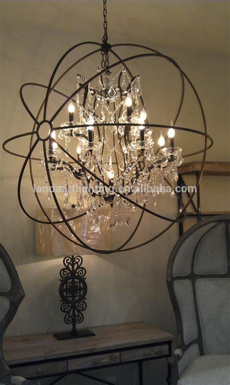rustic orb chandelier modern rustic iron chandelier buy