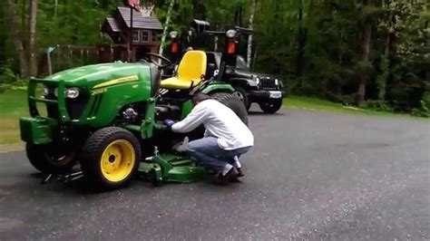 deere 1025r mower deck removal deere 2032r mowing problems autos post