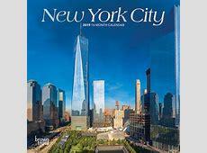 New York City 2019 7 x 7 Inch Monthly Mini Wall Calendar