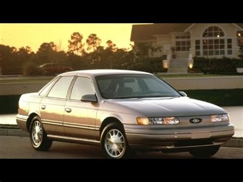 ford taurus start   review    youtube
