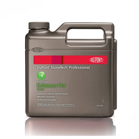 Dupont Tile Sealer And Enhancer by Dupont Stonetech Professional Enhancer Pro Sealer 1 Gallon