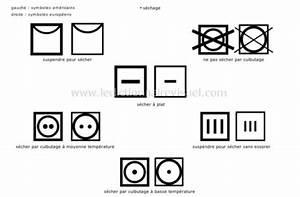 Symboles Lavage Vêtements : v tements symboles d entretien des tissus image ~ Melissatoandfro.com Idées de Décoration