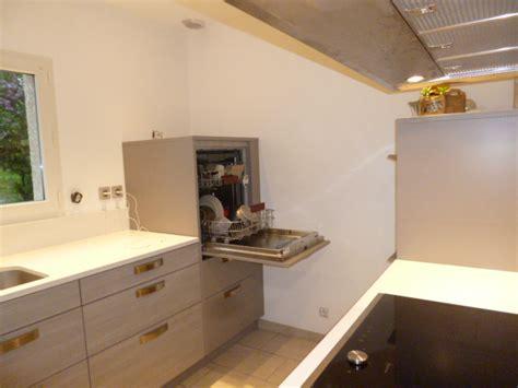 hauteur de hotte de cuisine lave vaisselle en hauteur cuisine essentiel