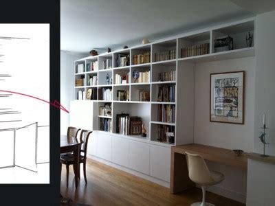 bibliotheque et bureau int 233 gr 233 portfolio tags agence diot clement
