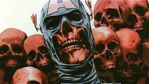 Captain America in Onslaught Reborn wallpaper - Comic ...
