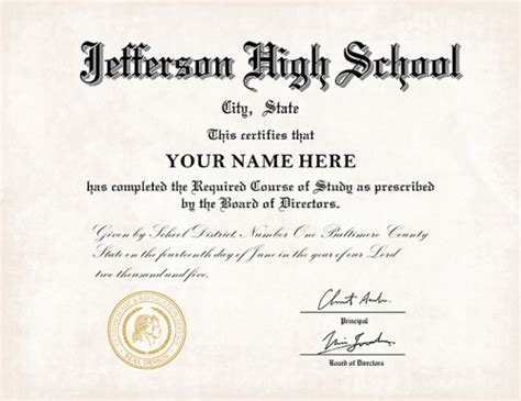 high school diploma style  buy diploma