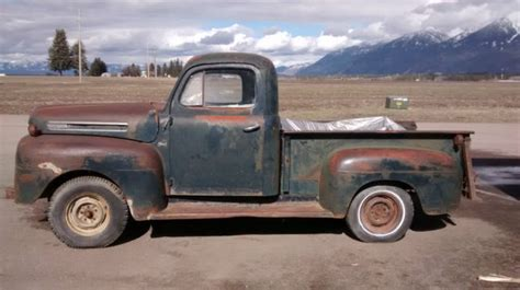1950 ford f1 solid montana truck awesome patina