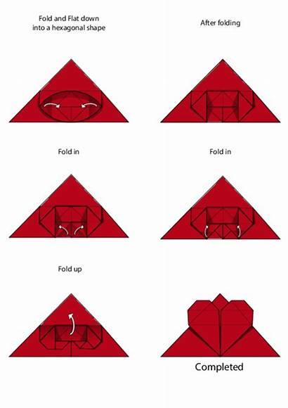 Origami Bookmark Instructions Easy Heart Kidspressmagazine Crafts